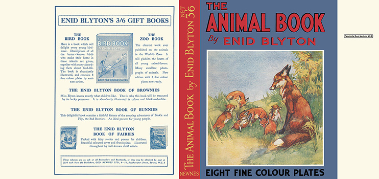 Animal Book, The. Enid Blyton