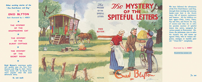 Mystery of the Spiteful Letters The. Enid Blyton, J. Abbey.