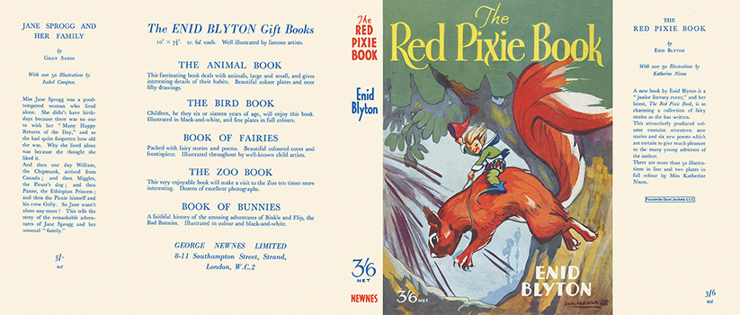 Red Pixie Book, The. Enid Blyton, Kathleen Nixon.