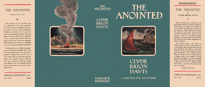 Anointed, The. Clyde Brion Davis
