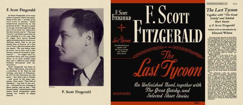 Last Tycoon, The. F. Scott Fitzgerald.