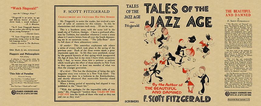 an analysis of the literature of the jazz age Read about tales of the jazz age (1922), a collection of short works by f scott fitzgerald the great gatsby learn more about fitzgerald's most-celebrated novel, the great gatsby.