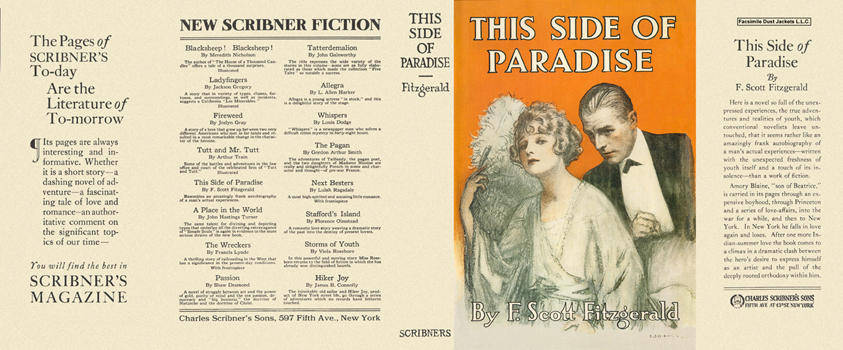 a literary analysis of this side of paradise by fitzgerald This side of paradise is the debut novel by f scott fitzgerald is an attractive princeton university student who dabbles in literature then had a failed romance with a second debutante (though after the success of this side of paradise, fitzgerald won back zelda.
