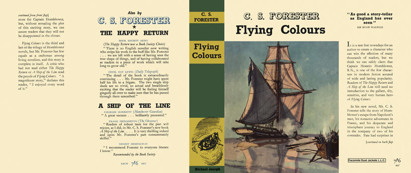 Flying Colours. C. S. Forester