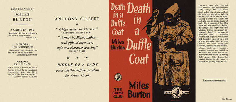 Death in a Duffle Coat. Miles Burton.