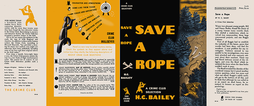 Save a Rope. H. C. Bailey.