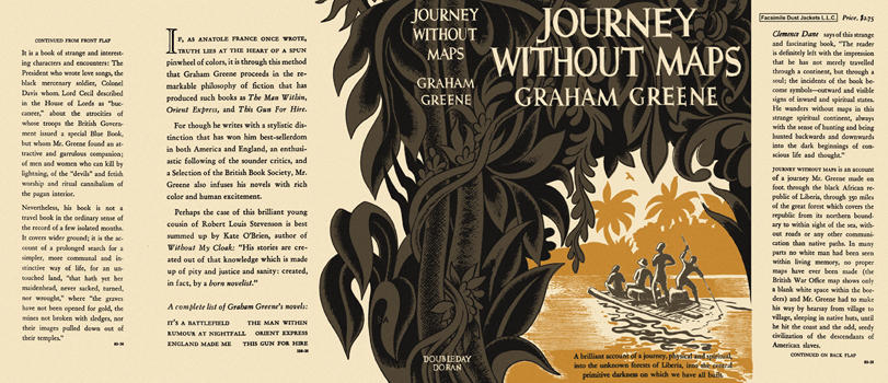 Journey Without Maps. Graham Greene.