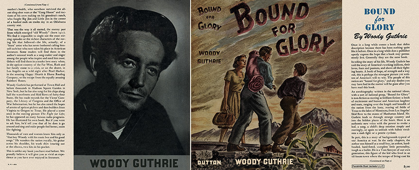 Bound for Glory. Woody Guthrie