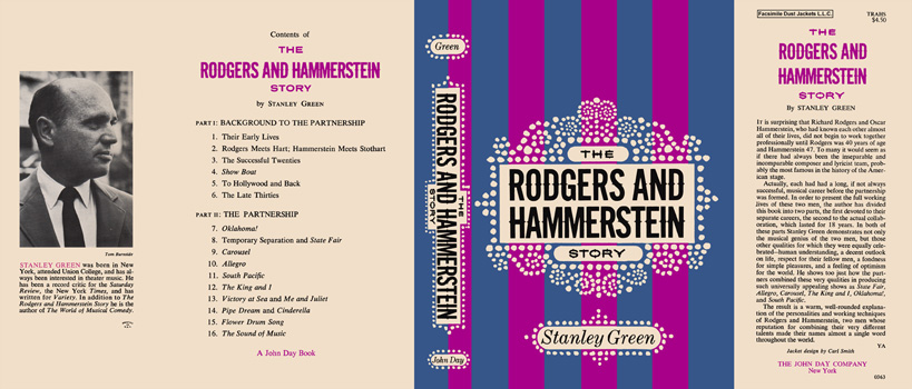 Rodgers and Hammerstein Story, The. Stanley Green.