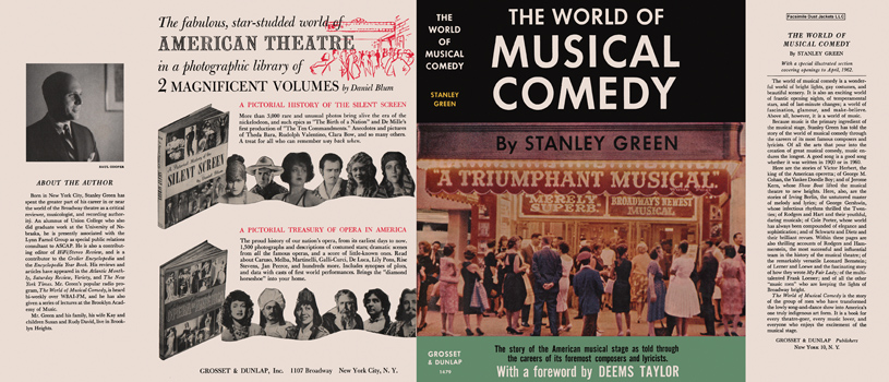 World of Musical Comedy, The. Stanley Green.