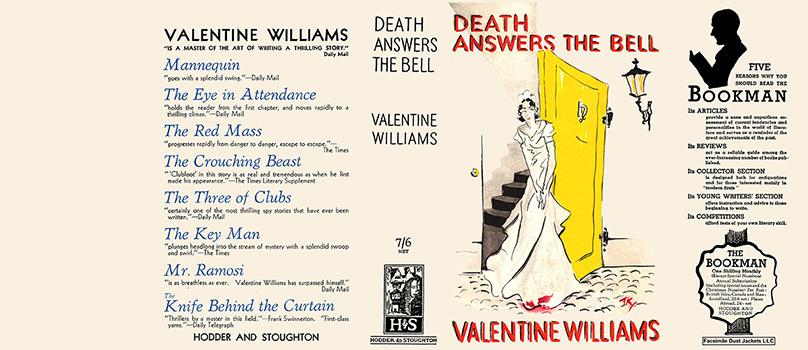 Death Answers the Bell. Valentine Williams