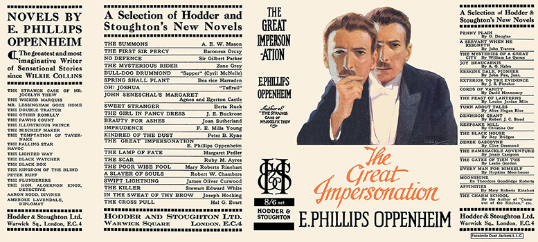 Great Impersonation, The. E. Phillips Oppenheim.