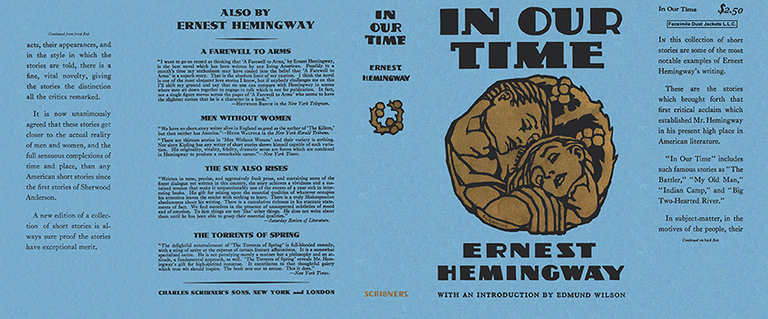 a literary analysis of in our time by ernest hemingway New critical approaches to the short stories of ernest hemingway editor(s time-and-history in earnest hemingway's in our time / e r of different critical points of view—from a lacanian reading of hemingway's after the storm to a semiotic analysis of a very short.