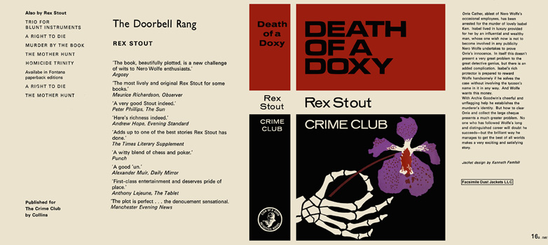 Death of a Doxy. Rex Stout