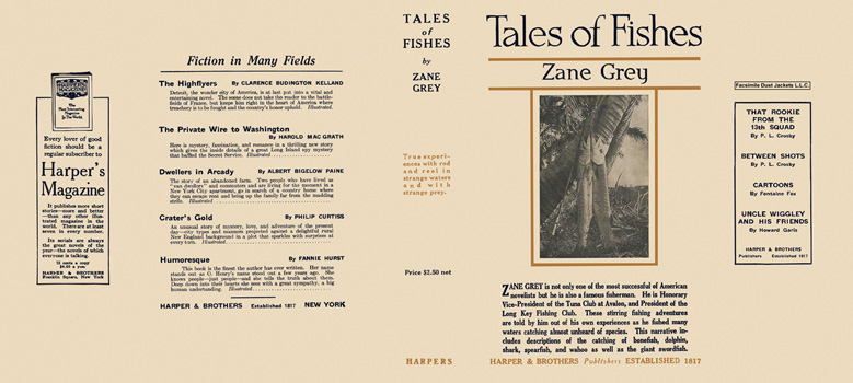 Tales of Fishes. Zane Grey