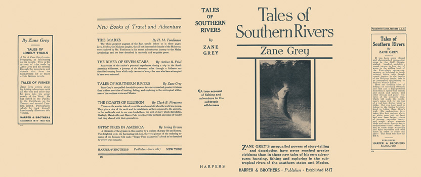 Tales of Southern Rivers. Zane Grey.