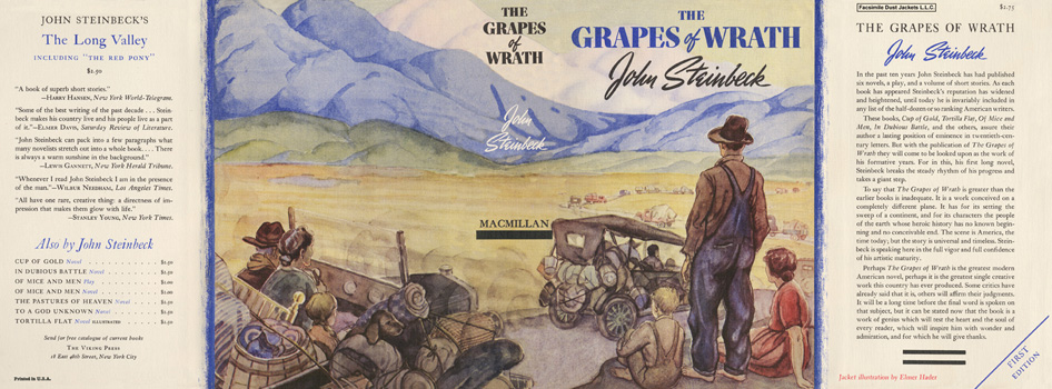 Grapes of Wrath, The. John Steinbeck