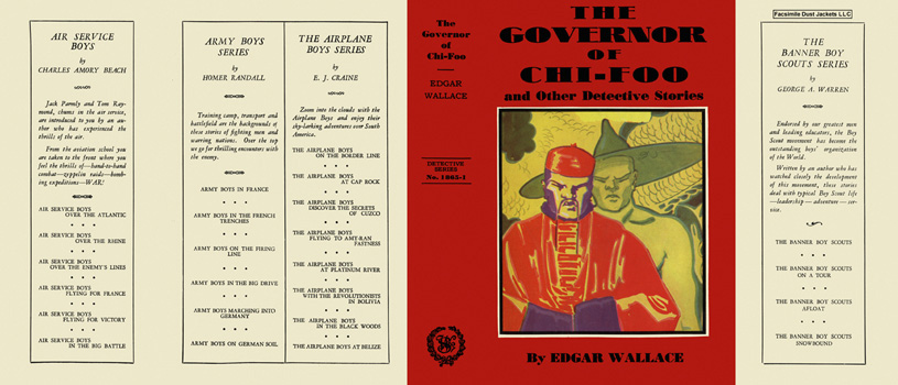 Governor of Chi-Foo, The. Edgar Wallace.