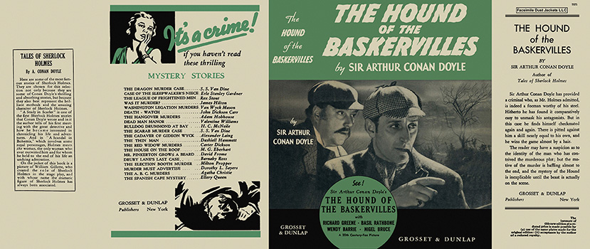 Hound of the Baskervilles, The. Sir Arthur Conan Doyle