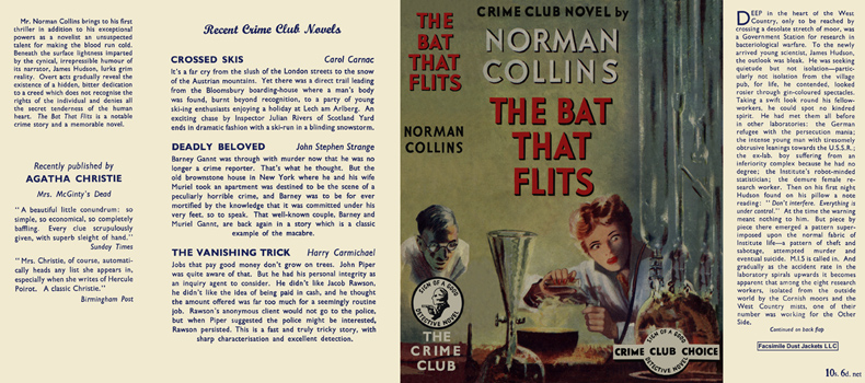 Bat That Flits, The. Norman Collins