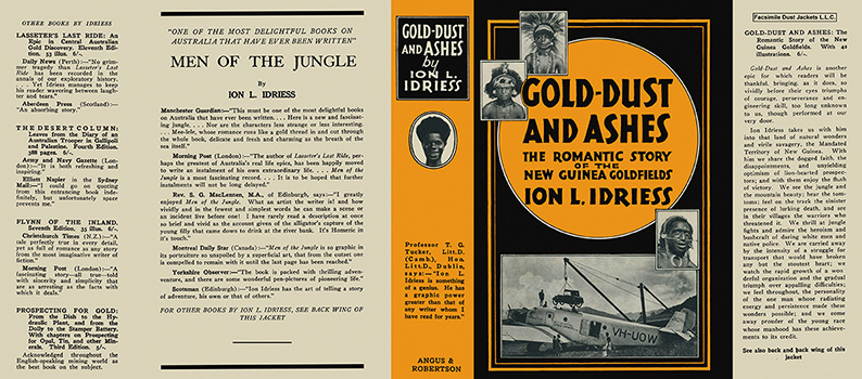 Gold-Dust and Ashes. Ion L. Idriess.