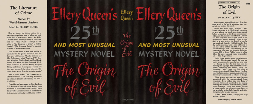 Origin of Evil, The. Ellery Queen.