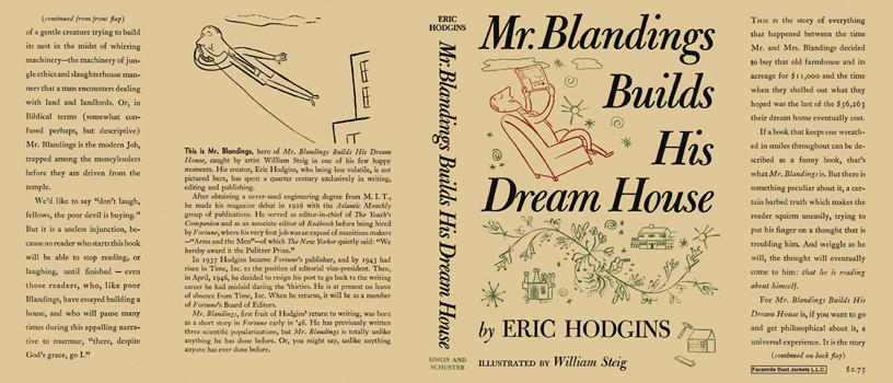 Mr. Blandings Builds His Dream House. Eric Hodgins