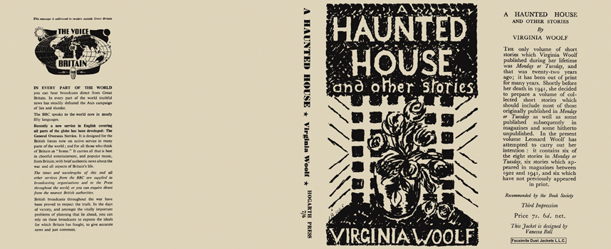 essays on a haunted house by virginia woolf Or if she felt, as she often did, while writing a novel that she required to rest her mind by working at something else for a time, she would either write a critical essay or work upon one of her sketches for short stories for some time before her death we had often discussed the possibility of her republishing monday or tuesday.