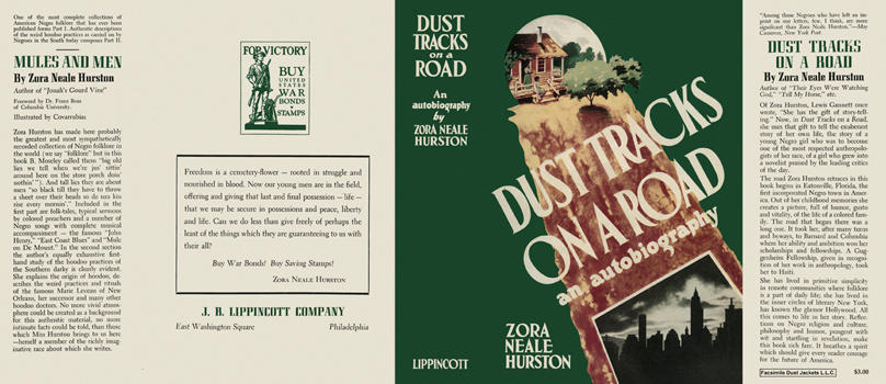 Dust Tracks on a Road. Zora Neale Hurston