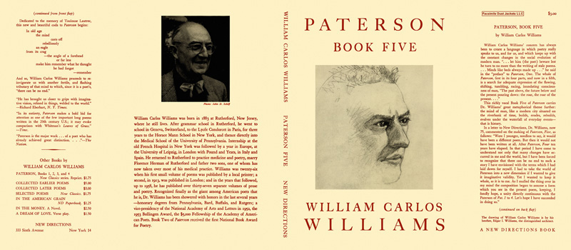 Paterson, Book 5. William Carlos Williams