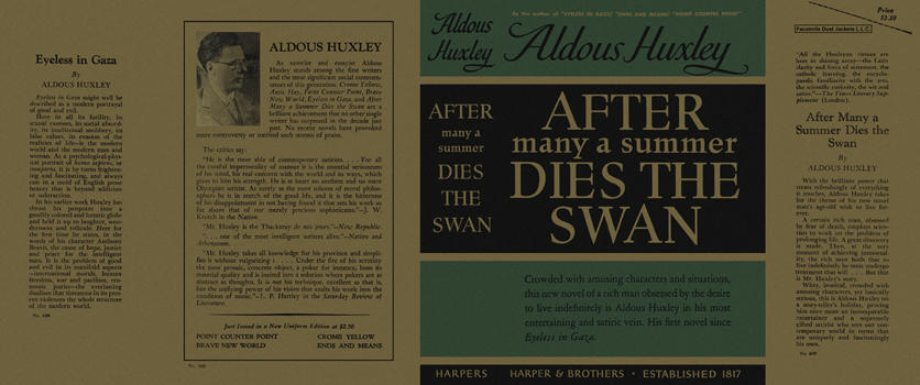 after many a summer dies the After many a summer dies the swan by aldous huxley 6 editions first published in 1939 subjects: fiction, millionaires, immortalism, protected daisy places: hollywood (los angeles.