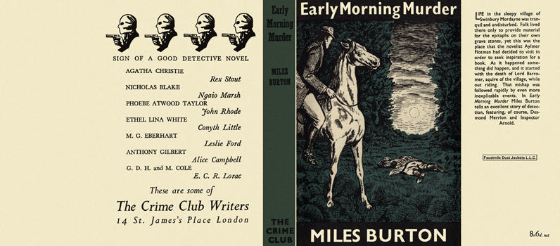 Early Morning Murder. Miles Burton.