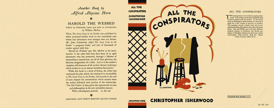 All the Conspirators. Christopher Isherwood.