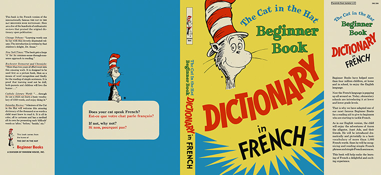 Cat in the Hat Dictionary in French, The. Seuss Dr.