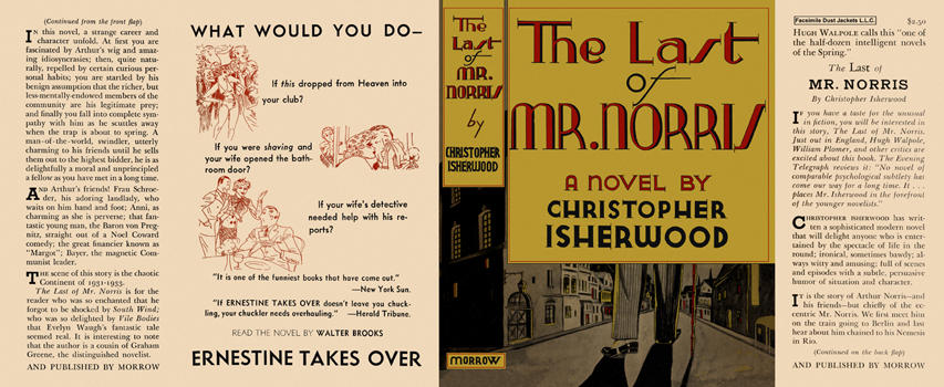Last of Mr. Norris, The. Christopher Isherwood