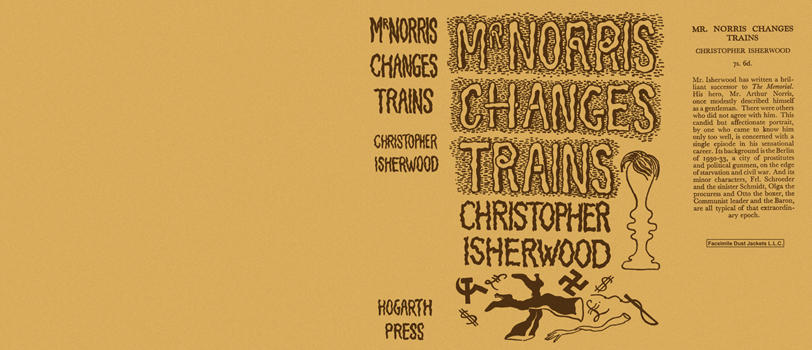 Mr. Norris Changes Trains. Christopher Isherwood