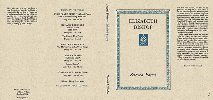 Selected Poems. Elizabeth Bishop