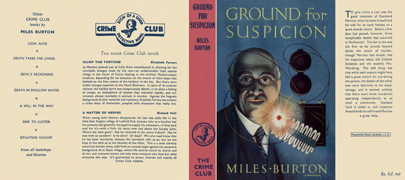 Ground for Suspicion. Miles Burton.