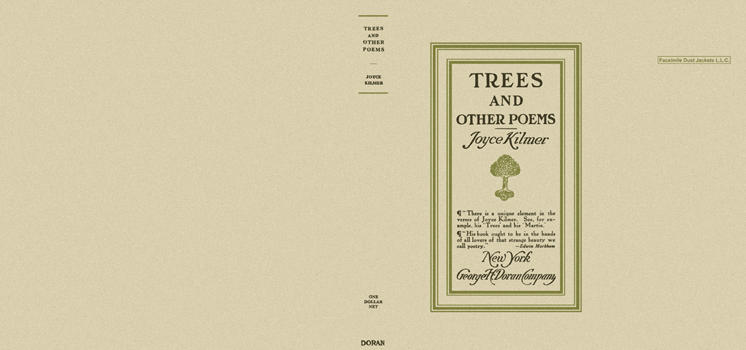 Trees and Other Poems. Joyce Kilmer