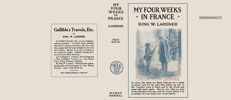 My Four Weeks in France. Ring W. Lardner