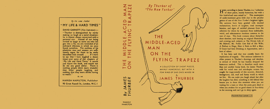 Middle-Aged Man on the Flying Trapeze, The. James Thurber