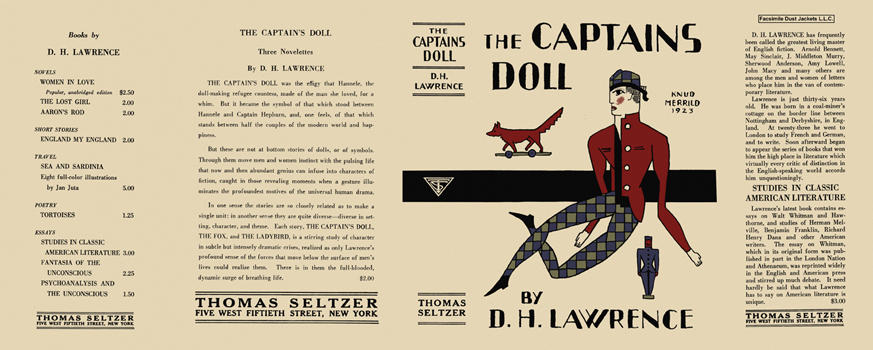 Captains Doll, The. D. H. Lawrence.