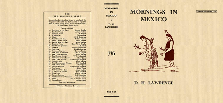 Mornings in Mexico. D. H. Lawrence