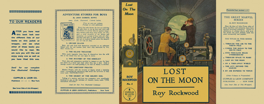 Lost on the Moon. Roy Rockwood