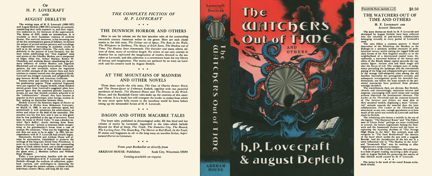 Watchers Out of Time, The. H. P. Lovecraft, August Derleth