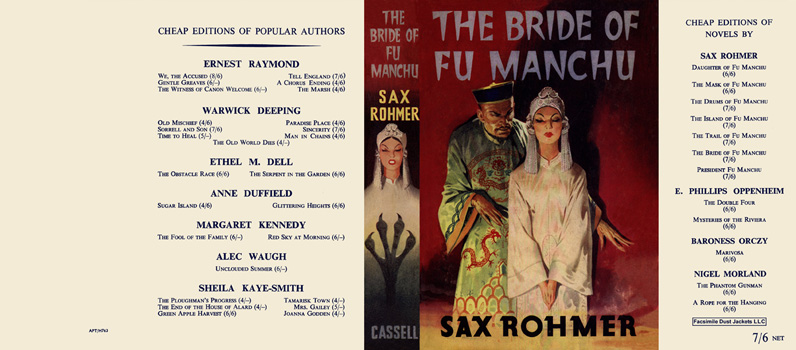Bride of Fu Manchu, The. Sax Rohmer