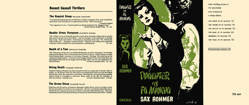 Daughter of Fu Manchu. Sax Rohmer