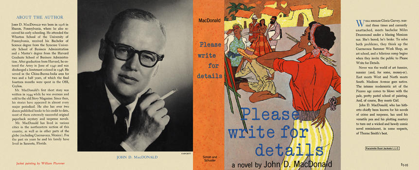 Please Write for Details. John D. MacDonald