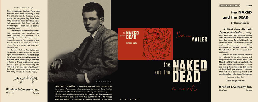 Naked and the Dead, The. Norman Mailer