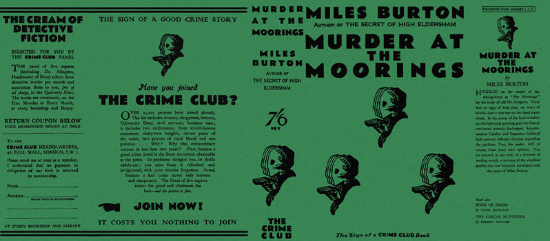 Murder at the Moorings. Miles Burton.